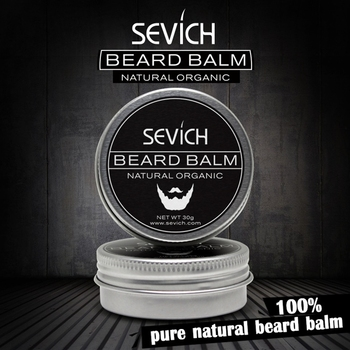 Sevich Natural Beard Balm Beard Conditioner Professional For Beard Growth Organic Mustache Wax For Beard Smooth Styling 6