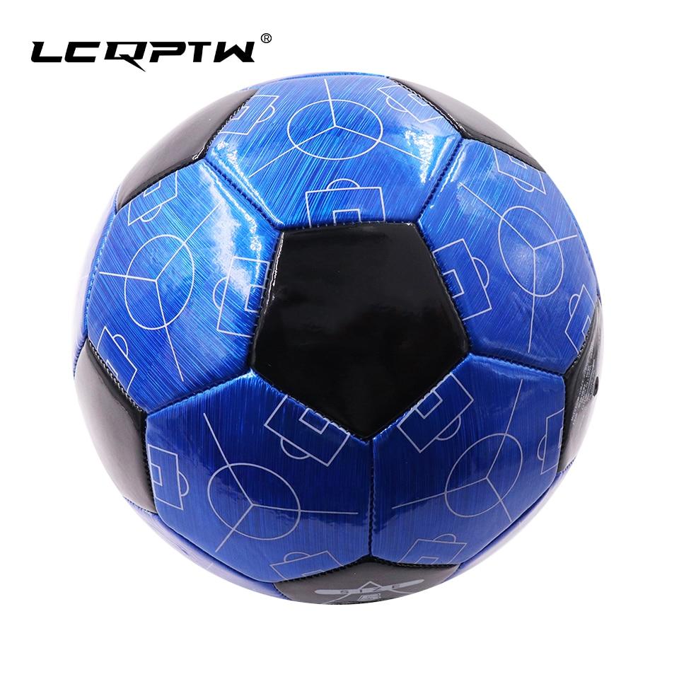 2019 Football Ball Size 5 Professional PU Soccer Ball Goal Team Match Training Futbol For Sport Equipment