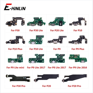 Image 1 - Charging Port Connector Board Parts Flex Cable With Microphone Mic For HuaWei P30 P20 Pro P10 P9 Plus Mini P8 Lite 2017