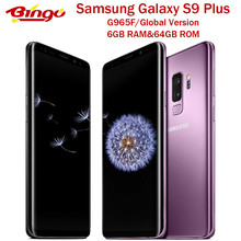 "Samsung Galaxy S9 + S9 Plus G965F Original 4G LTE Android Handy Octa Core 6,2 ""Dual 12MP & 8MP RAM 6GB ROM 64G Exynos(China)"