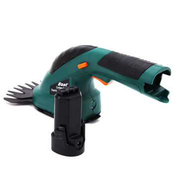 East 7.2V Cordless Combo Lawn Mower Li-Ion Rechargeable Hedge Trimmer Grass Cutter ET1502 Garden Power Tools
