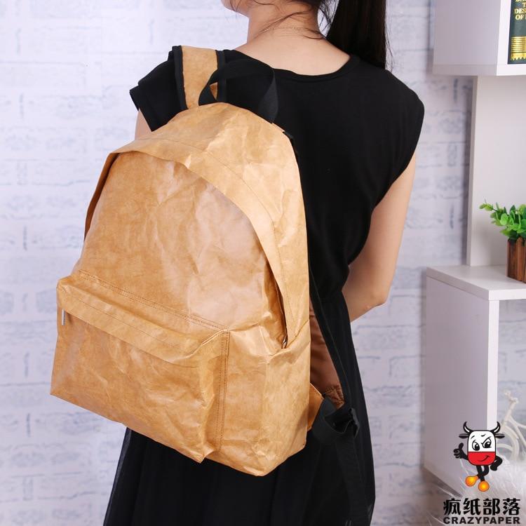 Waterproof Ultra-light Tear-resistant Dupont Paper Bag Tyvek Paper Bag Washable Kraft Paper Backpack