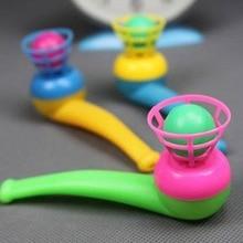 2 шт. антистрессовый пластиковый дующий мяч уличные детские игрушки для детей баланс игры захватывающие движения способность развитие спорта