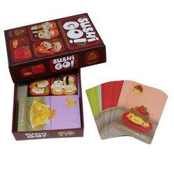 Jogo de tabuleiro educacional, pai e filho, sushi, festa, palito e jogo de cartas de passagem, brinquedo para 3-5 pessoas interativas jogo brinquedos novos
