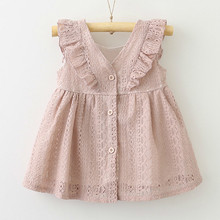 Girls dress Summer Style Lace Dress Baby Casual Dresses Childrens Clothing Toddler Girl 40