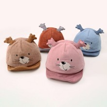 Casual Fashion Baby Cartoon Embroidered Hats Kids Toddler Cute Visors Childrens Caps