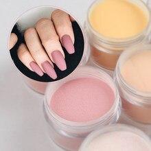 Nude acrílico pó de cristal em pó para fazer dicas de unhas 3d decoração profissional manicure extensão poeira acessórios
