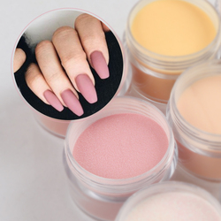 Nude Acrylic Powder Crystal Powder For Making 3D Nail Tips Decoration Professional Manicure Extension Dust Accessories