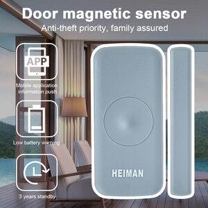 Image 2 - HEIMAN Zigbee magnetic switch Door window Detector sensor alarm for smart house Security alarm home