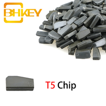 BHKEY T5 Chip for Car Key Cemamic Blank Transponder Ceramic Not Coded New ID T5-20 1PCS