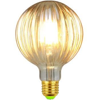 цена на TIANFAN Led Bulbs Vintage Light Bulb G95 Globe Crystal Golden Glass 4W 220/240V E27 2500K Super Warm White Edison Led Bulb