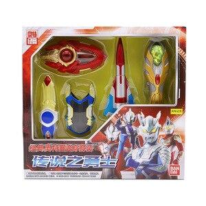 Bandai Ultraman детская Игрушечная модель Ultraman поворотный набор-Legend of Warrior 52775