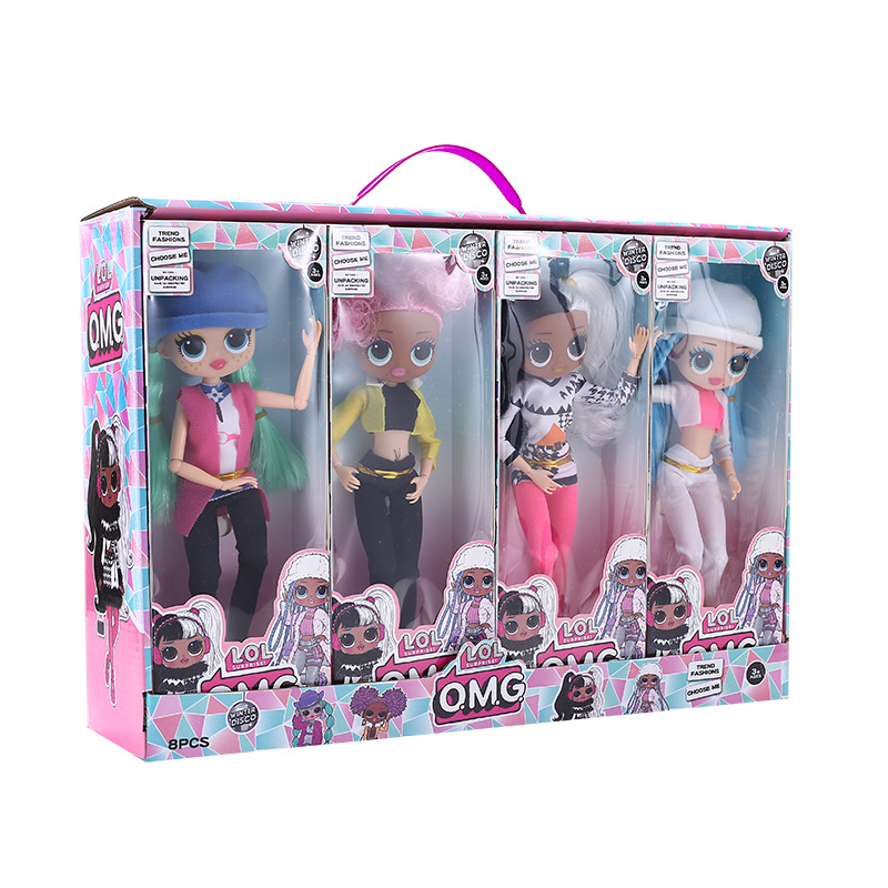 L.O.L. Surprise! O.M.G. Winter Disco Dollie Fashion Doll & Sister 4 Styles 27cm Dolls GIft Girls Toys