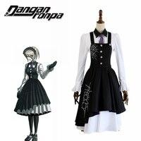 Danganronpa V3: Killing Harmony Kirumi Tojo Cosplay Costume Maid Dress Halloween Carnival Costumes Maid dress school uniform