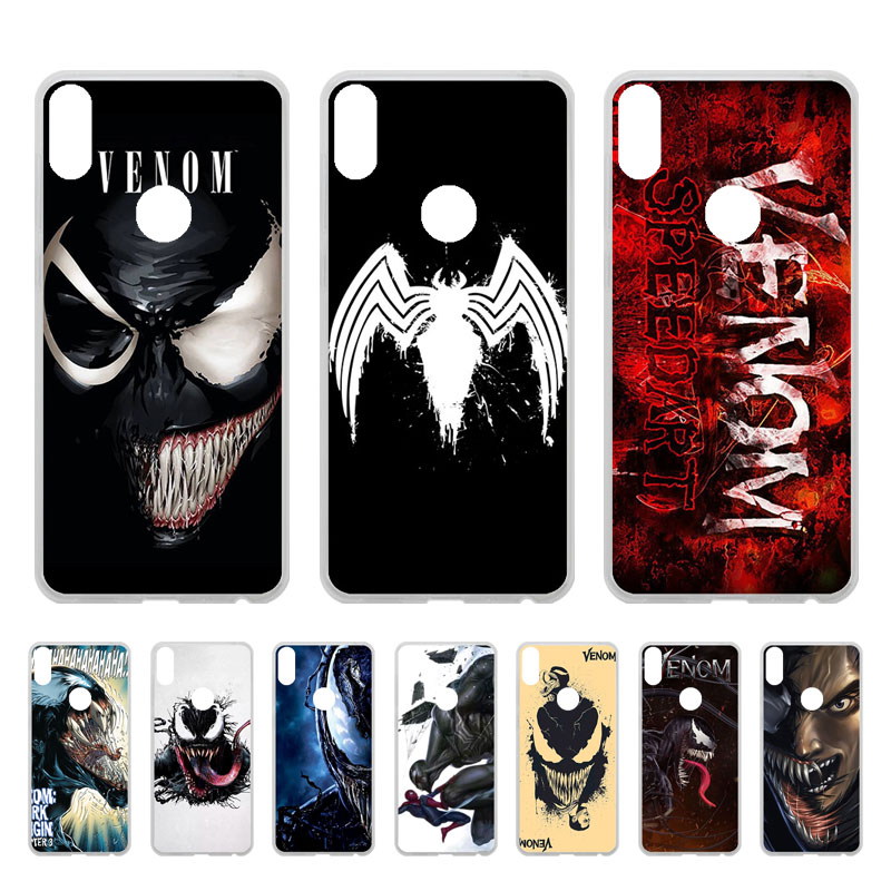 Soft TPU Cover Case For Asus ZenFone Max Pro M1 ZB602KL Silicone Case Cover For Max Pro M1 X00TD ZB601KL Bumper Venom Patterns