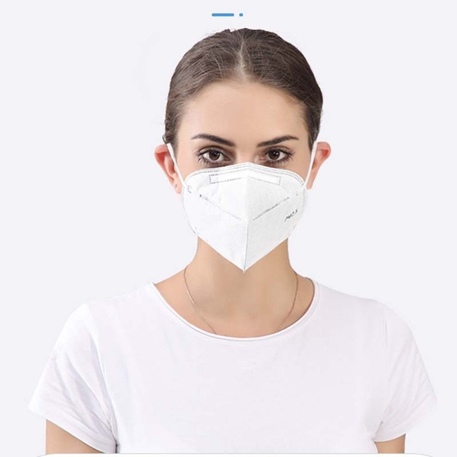 [1~25pcs] KN95 Disposable Face Masks N95 Protective Filter Mouth Respirator Dust Mask Flu Facial template ffp2 Pm2.5 mouth Cover 1