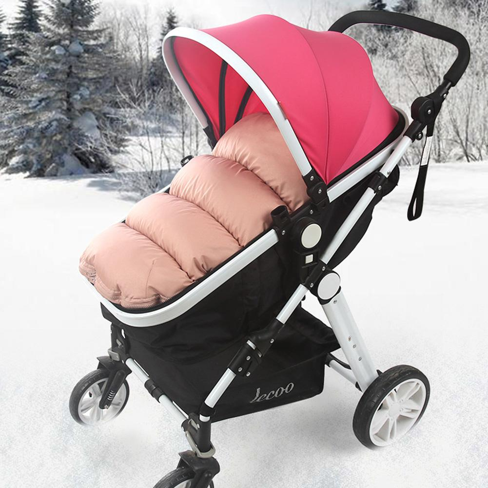 Baby Sleeping Bag Winter Warm Baby Stroller Footmuff Thicken Newborn Swaddle Wrap Winter Warm Windproof Sleepsack