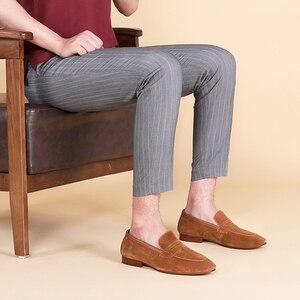 Image 5 - דסאי גברים של מזדמן Natura אמיתי עסקי עור בעבודת יד שמלת מוקסינים גברים נעלי Mens בטלן לנשימה באיכות גבוהה 2020