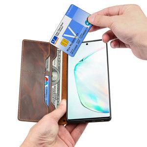 Image 3 - สำหรับCoque Samsung Note 20 Ultra S20 PLUSหมายเหตุ 10 S10 จริงกระเป๋าสตางค์หนังFINGER GRIP Grip CaseสำหรับSamsung S20 Funda