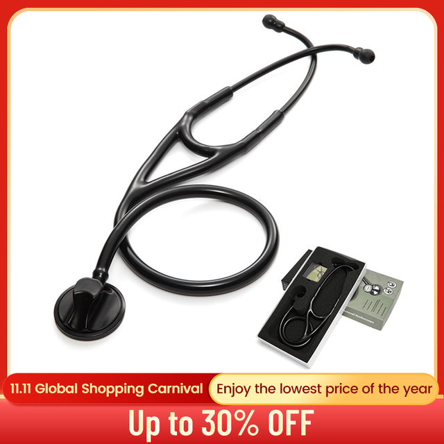 Professional Heart Lung Cardiology Stethoscope Medical Single Head Doctor Stethoscope Doctor Student Medical Equipment Device