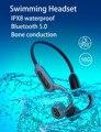 003 Водонепроницаемый IPX8 Беспроводной MP3 плеер для дайвинга, плавания, серфинга, 16 ГБ костной проводимости, Bluetooth-гарнитура, музыкальный плеер