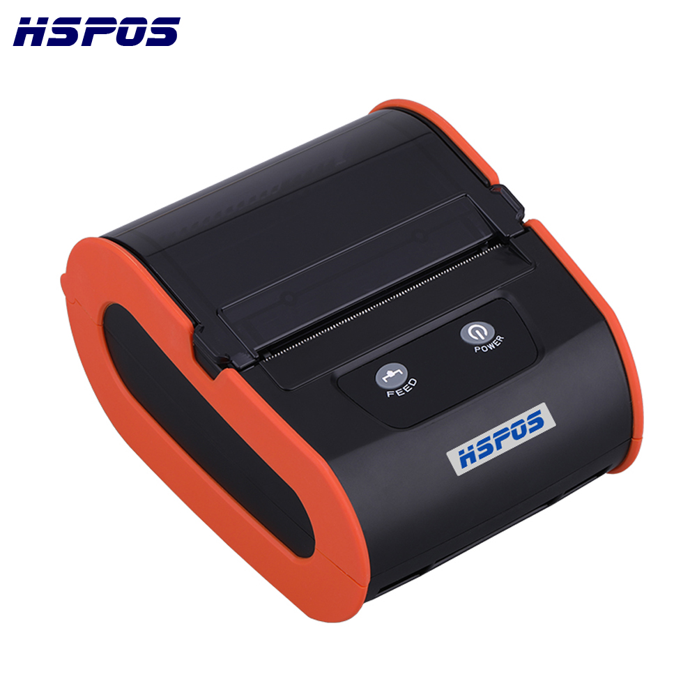 Newest Free Shipping OEM 80MM Thermal Portable Barcode Label Printer Support Free APP And SDK For Android