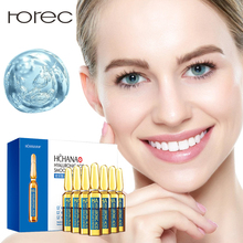 ROREC Face Serum Hyaluronic Acid Shrink Pores Anti-Ance Ampoule Essence Nicotinamide Whitening Moisturizing Anti-Wrinkle Care
