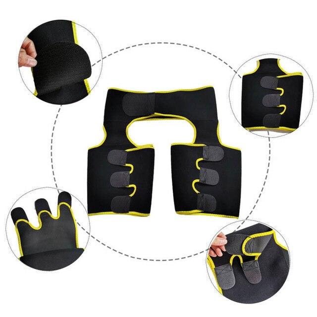 Fitness Sweat Belt Hip Enhancer Running Weight Loss Shaping Invisible Lift Butt Lifter Shaper Waist Slimming Trimmer Belt 5