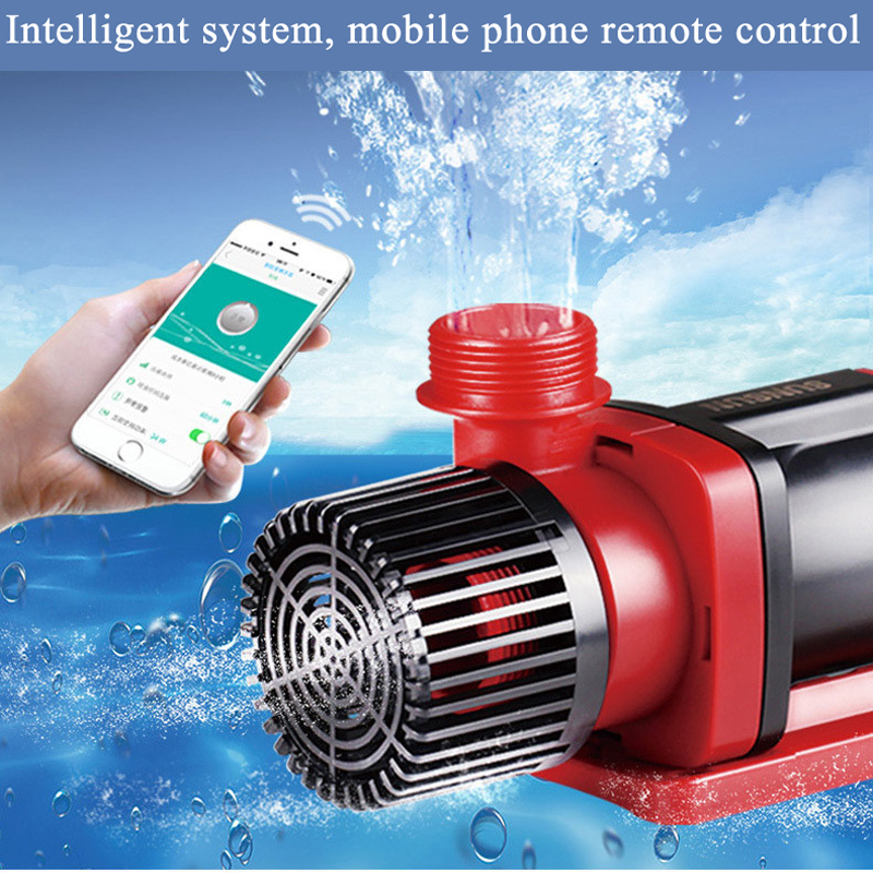 WIFI <font><b>110V</b></font>-240V SUNSUN variable frequency <font><b>water</b></font> <font><b>pump</b></font> JDP large flow adjustable submersible <font><b>pump</b></font> fish tank mute image