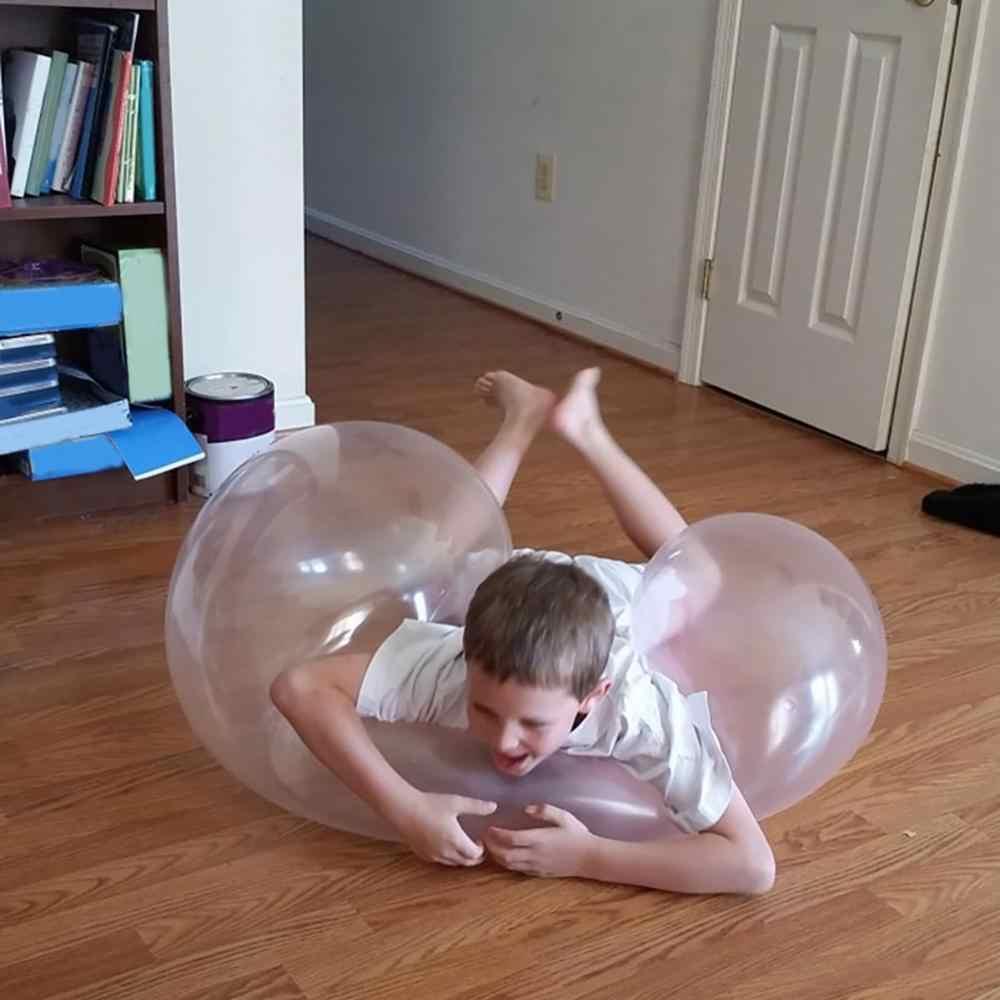 1 stücke Blase Bälle Weiche Squishys Luft Wasser Gefüllt Luftballons Blow Up Für Kinder Sommer Im Freien Spiele Baby bad Ballon spielzeug