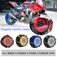 Clear Clutch Cover Guard Spring Retainer Transparent Engine Protector for BMW S1000RR HP4 S1000R S1000XR 2015 2016 2017 2018 19
