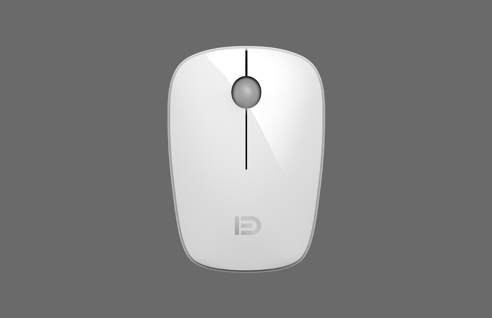 Беспроводная оптическая эргономичная компьютерная мышь 1600
