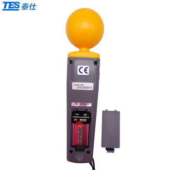 Tes-92 emf meter triaxial data log