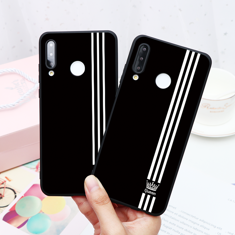 Couple Gift Soft TPU Cover For <font><b>Huawei</b></font> Honor 20 10 9 Lite View 20 10 20i 10i 8A 7A 9X Pro 8X 6A Y7 <font><b>Y6</b></font> Pro Y9 Prime <font><b>2019</b></font> 2018 Case image