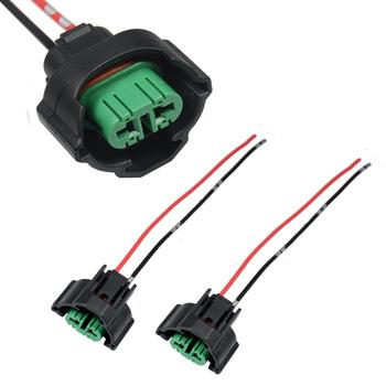YUNPICAR H11 H8 H9 881 880 adaptery żeńskie kable w wiązce gniazda drutu warkocze dla reflektorów lub światła przeciwmgielne modernizacji 2 sztuk tanie i dobre opinie Drut miedziany