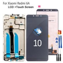 Оригинальный ЖК дисплей для Xiaomi Redmi 6A, сенсорный экран, дигитайзер, ЖК экран, запчасти для телефона Xiaomi Redmi 6A, ЖК дисплей, бесплатный инструмент