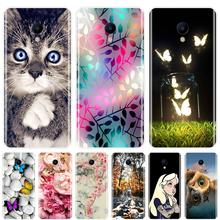 Phone Case For Meizu M6 M6S M5C M5 M5S M3S M3 M2 Soft Silicone TPU Cute Animals Painted Back Cover For Meizu M6 M5 M3 M2 Note