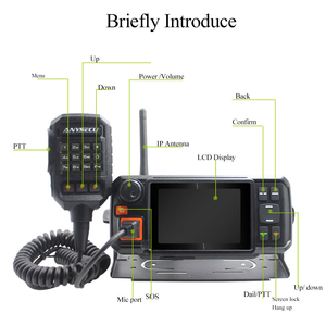 Image 2 - ANYSECU 4G W2Plus Unlock 4G Network Radio Android7.0 WCDMA GSM Walkie Talkie with WIFI N60 work with Real ptt Zello + AC charger