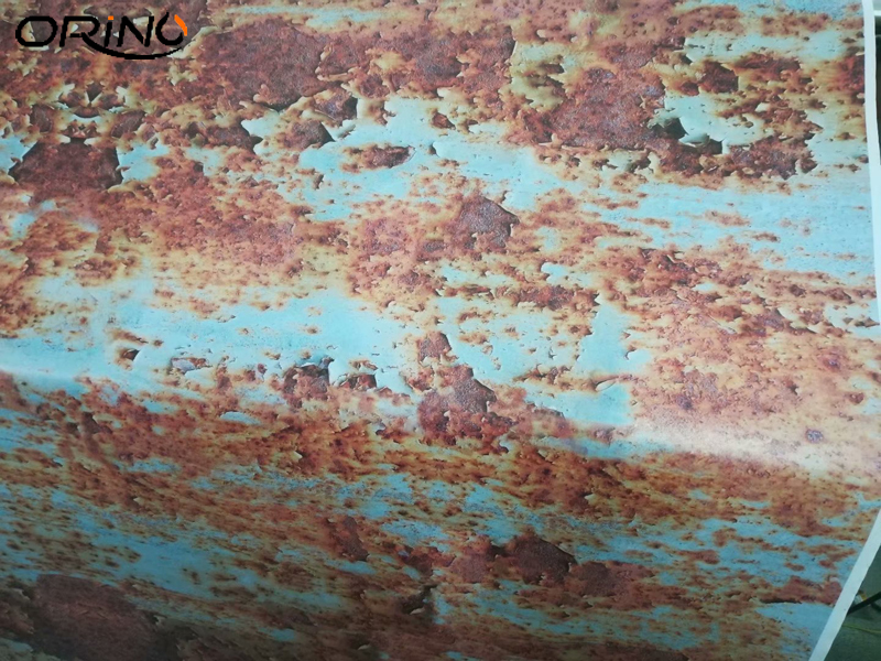 Rusty Car Sticker Wrap Foil-5
