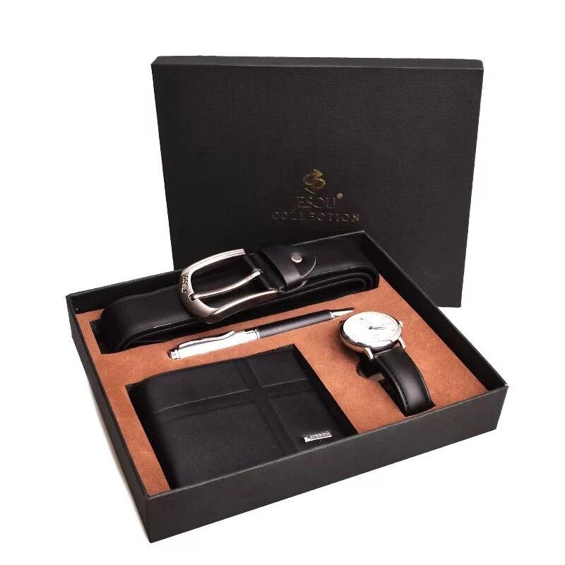 Sets of exquisite watch wallet Belt Pen