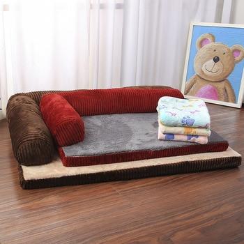 Luxury Large Dog Bed Sofa Dog Cat Pet Cushion Mat For Big Dogs   3