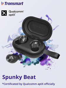 Earphone APTX Touch-Control Beat Tronsmart Spunky Qualcommchip Bluetooth Tws Wireless Earbuds