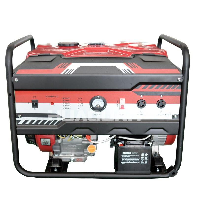 8000w 8kw 10kva gasolina tudo em um genset 04
