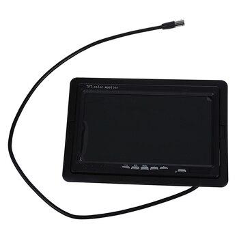 """7 """"автомобиль на тонкопленочных транзисторах на тонкоплёночных транзисторах Цвет монитор для VCD DVD GPS заднего вида Камера + пульт дистанционного управления"""