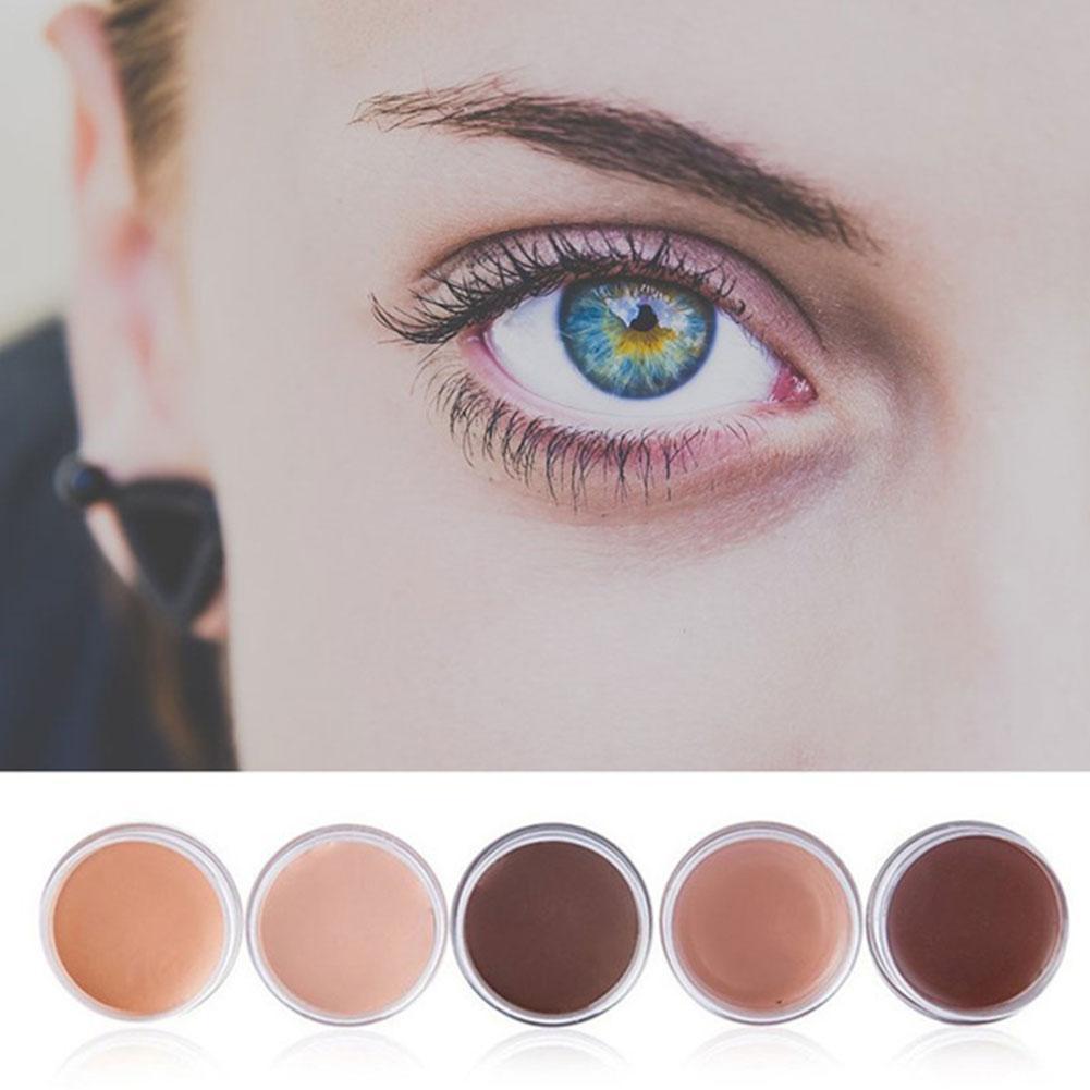5 Colors Natural Concealer-cream Waterproof Long-lasting Dark Skin Circles Eye Makeup Foundation Wrinkles Concealer And Red W7W2
