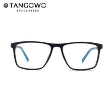 Glasses Frame Men Prescription Glasses TR90 Blue Light Glasses Myopia Glasses Square Eyeglasses Women Computer Glasses 2020