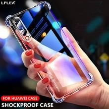 Shockproof Silicone Cases For Huawei P30 Lite P20 P40 Pro Nova 3i P Smart Y6 Y5 Y7 Y9 Prime 2019 Mate 30 20 10 Lite Honor 8X 10i soft black tpu phone cases for huawei honor 8x max 8c nova 3 3i mate 20 lite pro x rs p20 lite plus y9 2019 case