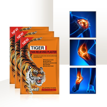 75bags=300pcs/lot Tiger Pain Relieving Plaster Chinese Herbal Shoulder Pain Killer Patch