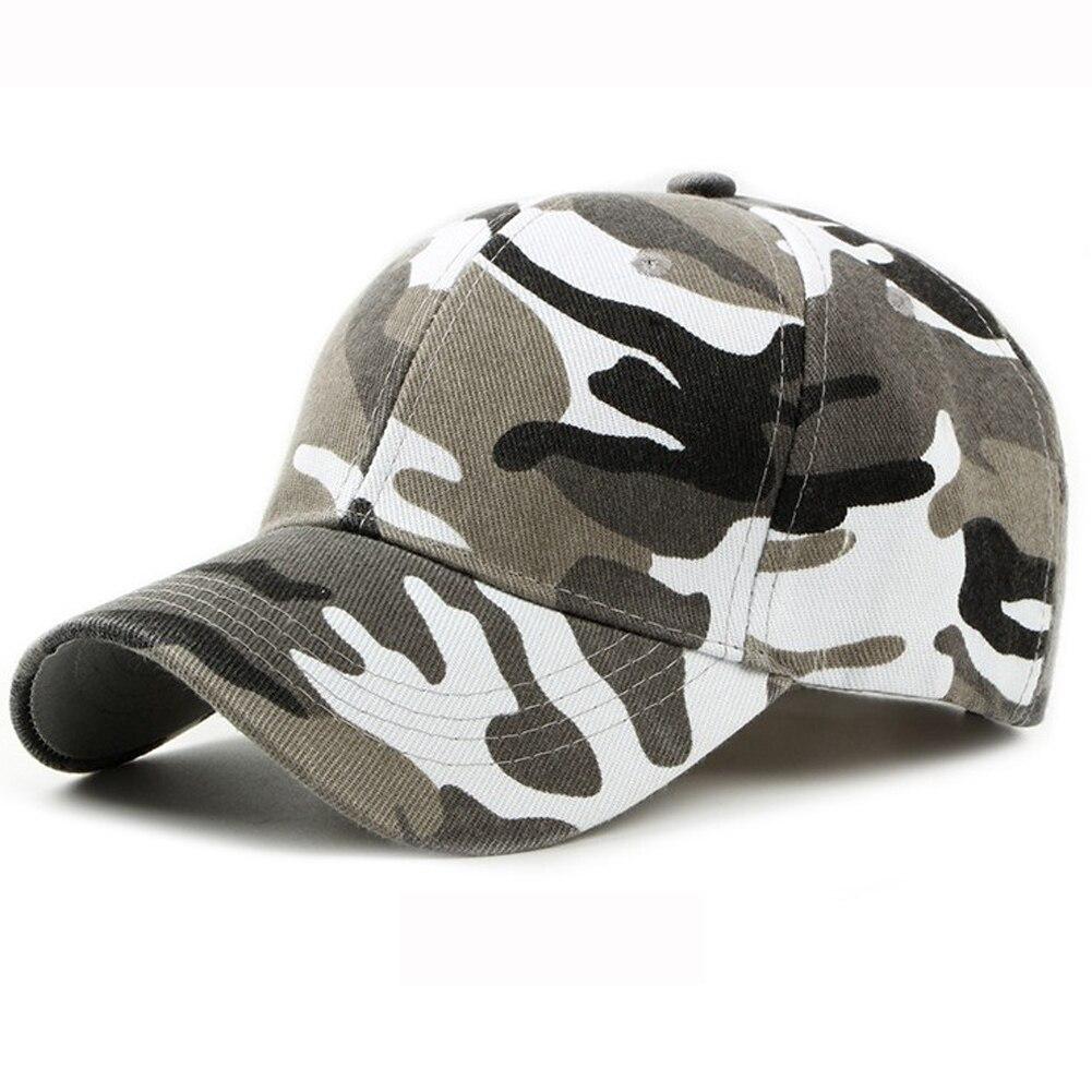 Outdoor Tactique Chasse Pêche Cap Camouflage Chapeau Réglable Taille Hommes Femmes