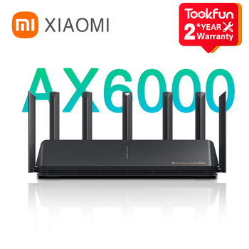 New 2021 Xiaomi AX6000 AIoT Router 6000Mbs WiFi6 VPN 512MB Qualcomm CPU Mesh Repeater External Signal Network Amplifier Mi Home 1